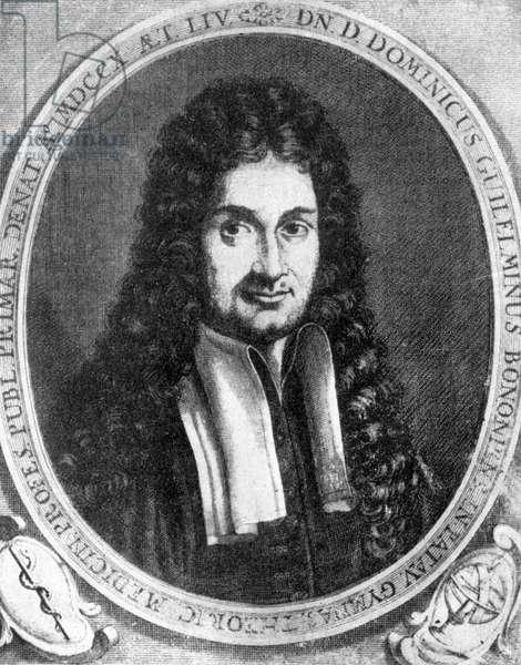 Domenico Guglielmini, Italian medical pioneer, 17th century