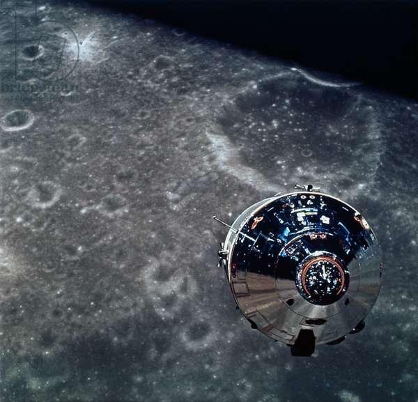 Manned Space Flight, USA, Apollo 10 The Apollo 10 Command Module, 1969