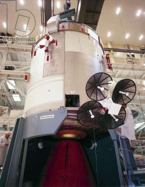 Manned Space Flight, USA, Apollo, General Apollo Command and Service Module, 1968