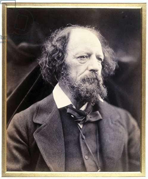 Lord Alfred Tennyson (1809-1892), poete anglais