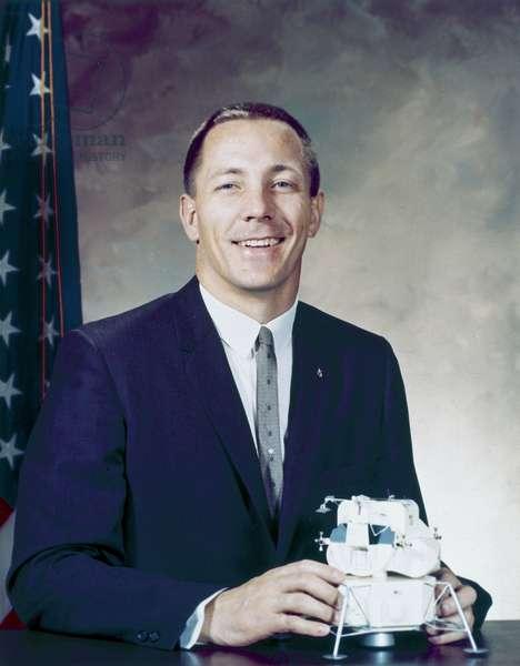 Manned Space Flight, USA, Apollo 13 Apollo 13 astronaut John Swigert in formal suit, 1966
