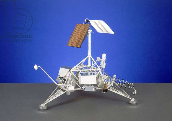 Spacecraft, USA, Lunar Surveyor soft-lander moon probe, 1966-1967