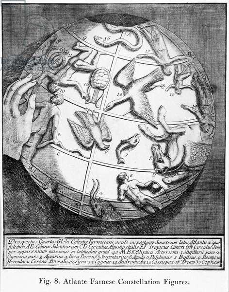 'Atlante Farnese Constellation Figures', 1921
