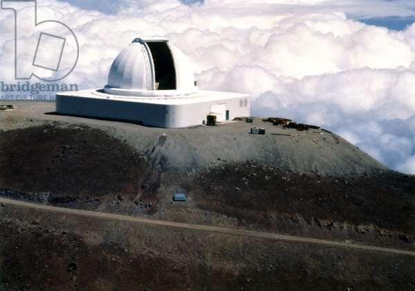 NASA infrared telescope facility, Hawaii, 1979