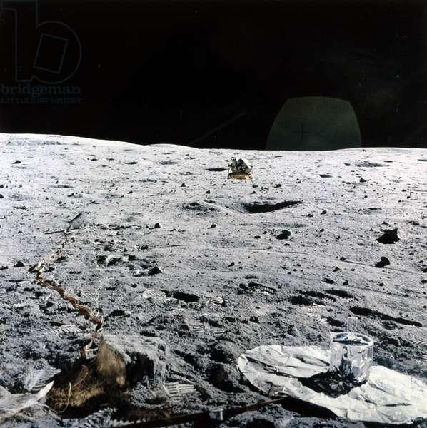 Manned Space Flight, USA, Apollo, General Apollo Lunar Module on the Moon, 1971-1972