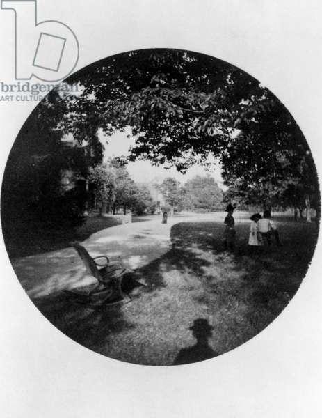 Children in a park, 1888