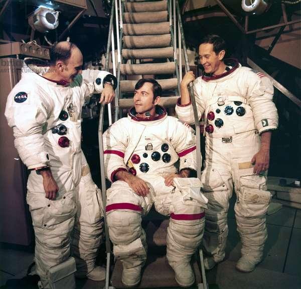Manned Space Flight, USA, Apollo 16 Apollo 16 astronauts, 1972