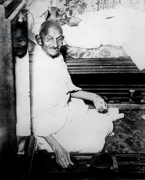 Ghandi, 1931 (b/w photo)