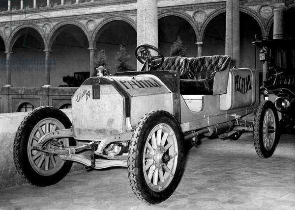 Italy, Milan, Historical Exhibition of Means of Transport at the Museum of Science And Technology, 1954 (b/w photo)