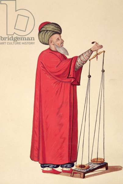 Market Official, Ottoman period, third quarter of 18th century (w/c on paper)