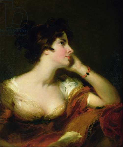 Maria Banks Woodley Riddell (1772-1808) (oil on canvas)