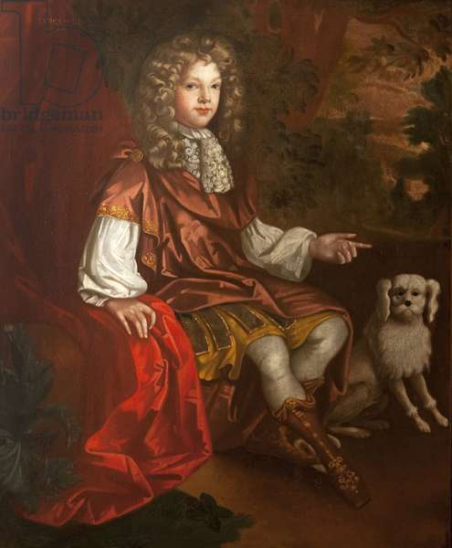 An Unknown Boy, reputedly, but not, Prince James Francis Edward Stuart ('James III') 'The Old Pretender' (1688–1766)