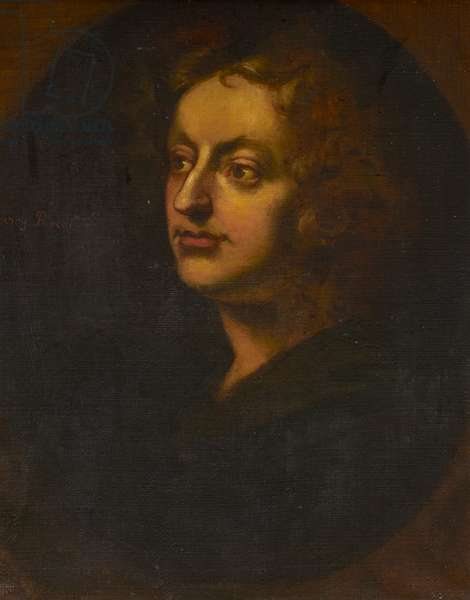 A unknown man (called Henry Purcell) (oil on canvas)