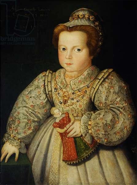 Lady Arabella Stuart, later Duchess of Somerset (1575 – 1615), aged 23 months