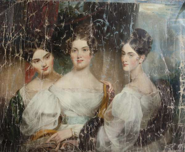 The Misses Macdonald [Caroline Sophia Macdonald, the Hon. Mrs Charles Cust (d. 1887), Emma Hamilla Macdonald, Mrs Wodehouse (d. 1852), Louisa Emily Macdonald, Mrs FitzRoy (d. 1897)]