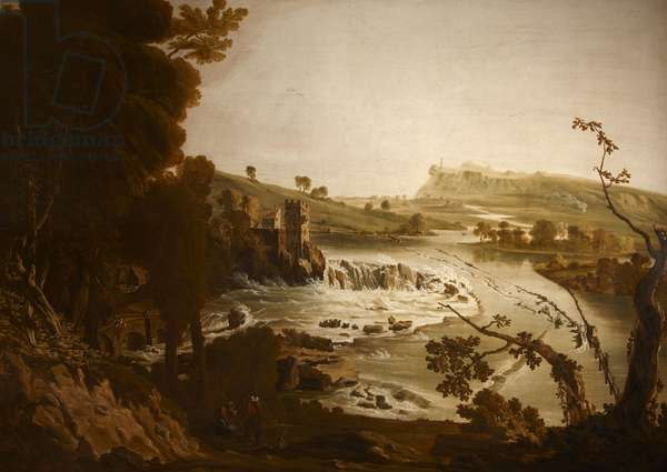 Belleek Falls (Falls of Ballyshannon, Co. Donegal), c.1780-90 (oil on canvas)