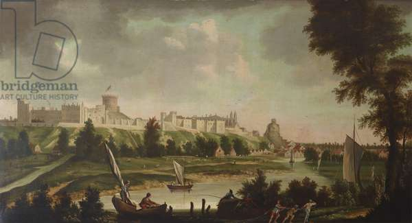 View of Windsor Castle from the River Thames