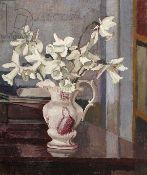 White Daffodils, c.1940-42 (oil on canvas)