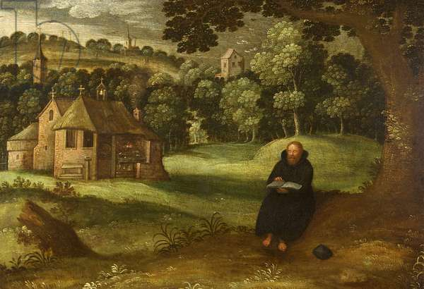 Landscape with an Augustinian Hermit