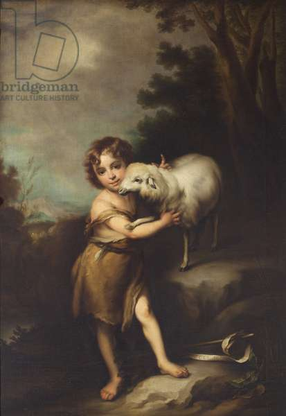 The Infant John the Baptist with Lamb