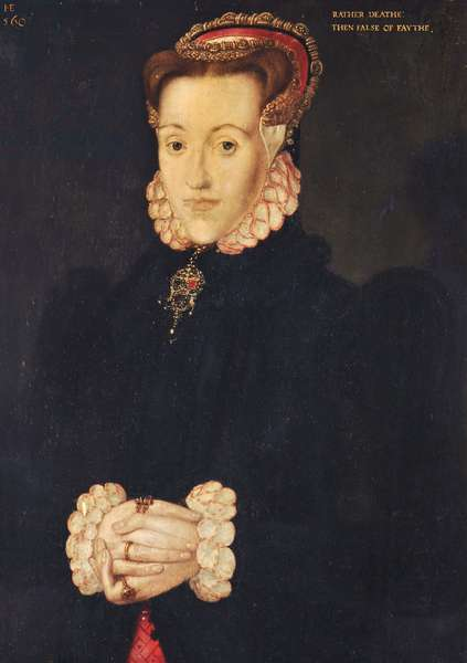 An Unknown Lady, called 'Anne Ayscough/Askew, Mrs Thomas Kyme (1521-1546)'
