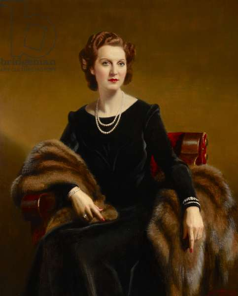 Eva 'Eve' Mary Dickson, Lady Price, 1946 (oil on canvas)