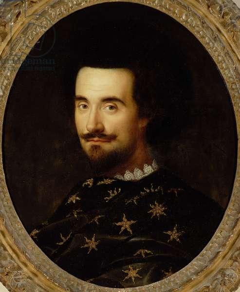 Edward Herbert, 1st Baron Herbert of Cherbury, c.1610-14 (oil on panel)