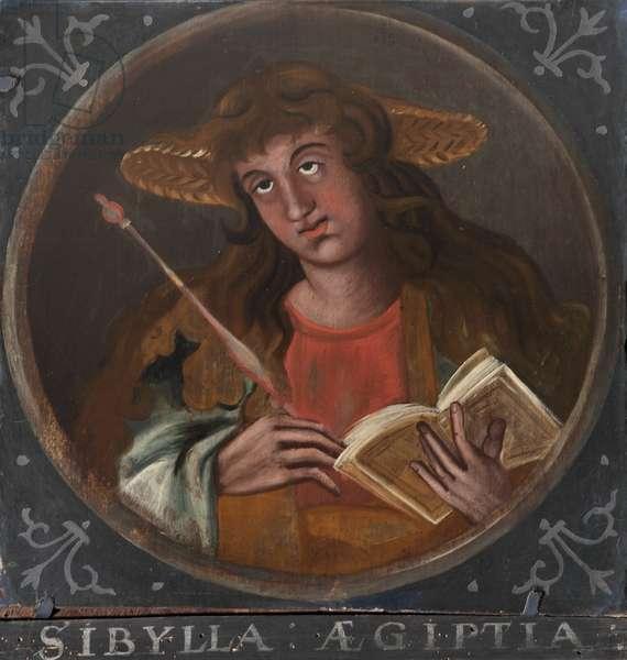 The European Sibyl (after Crispijn de Passe the elder)