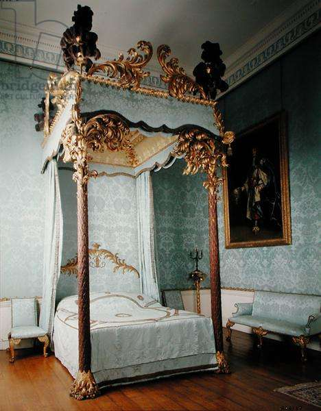 The State Bedchamber, c.1764 (photo)