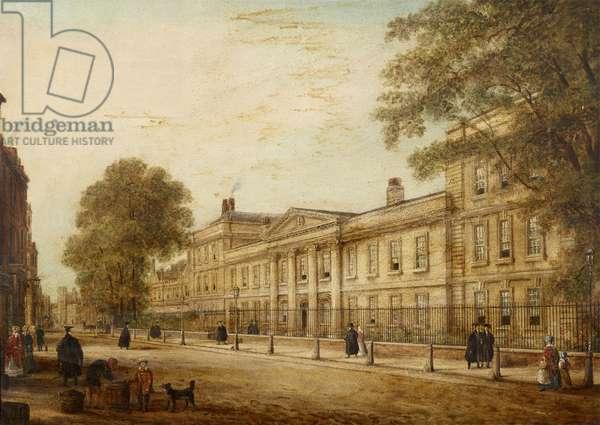 The Front Entrance, Emmanuel College, Cambridge