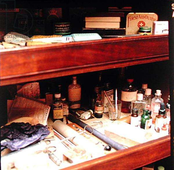 The Medicine Cabinet on the Turret Landing (photo)