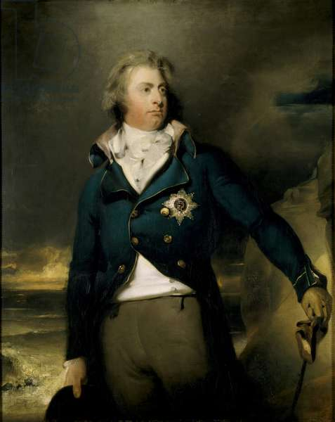King William IV, as the Duke of Clarence (oil on canvas)