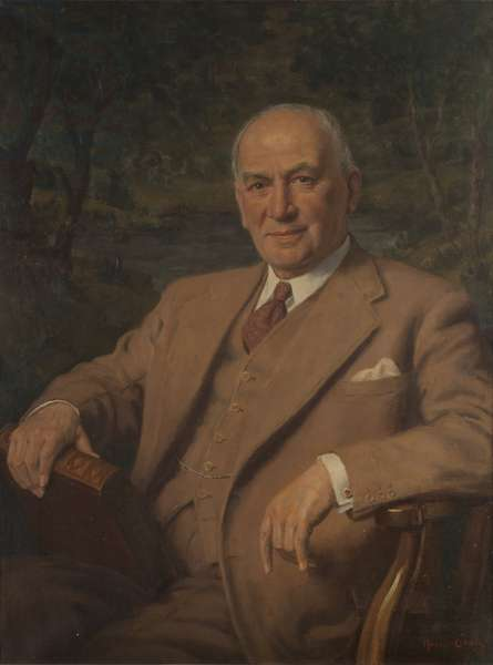 Sir Courtauld Greenwood Courtauld-Thomson, Baron Courtauld-Thomson, 1951 (oil on canvas)