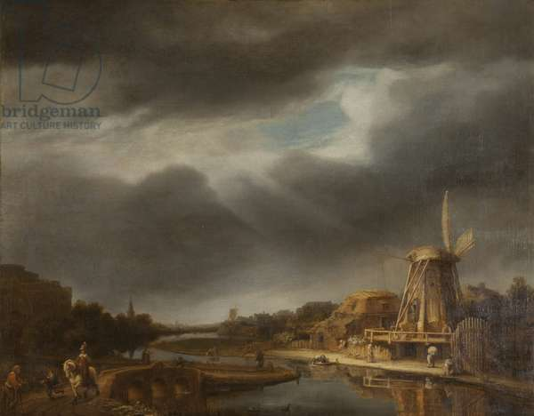 A Landscape with a Mill