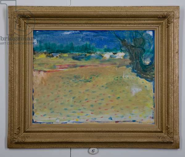 Landscape, 1971 (oil on canvas)