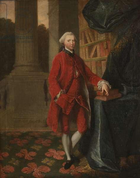 Sir Herbert Lloyd (oil on canvas)