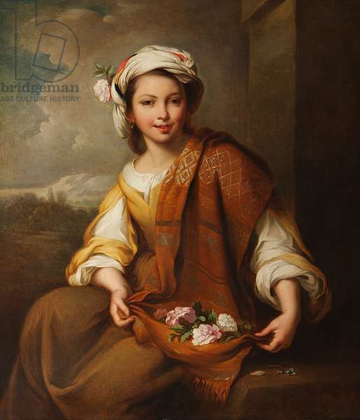 The Flower Girl (after Murillo)