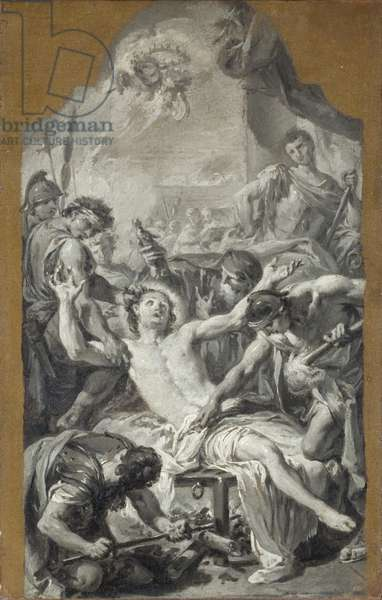 Sketch of the Martyrdom of St. Lawrence (oil on board)
