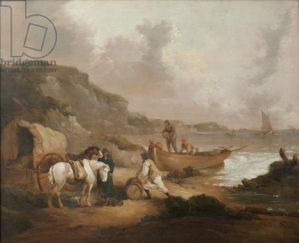 Smugglers on a Beach