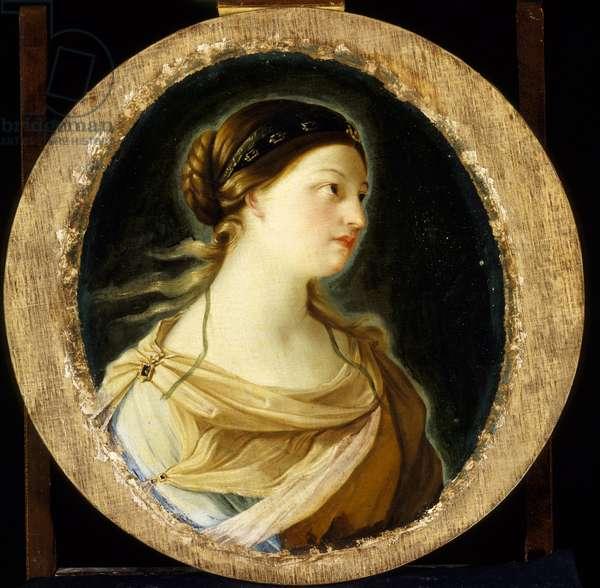 Head of Helen of Troy (oil on  canvas)