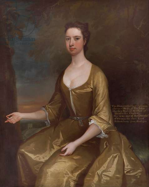 The Hon. Margaret Pelham, Lady Shelley (1700 -1758)