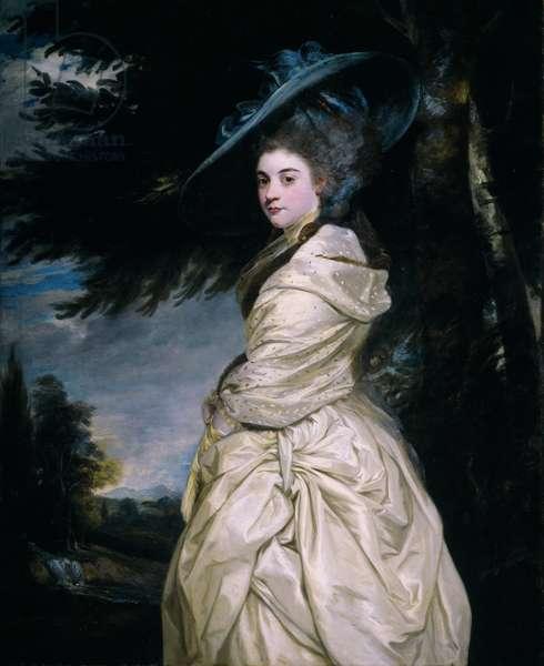 Lady Henrietta Antonia Herbert, Countess of Powis, 1777-78 (oil on canvas)