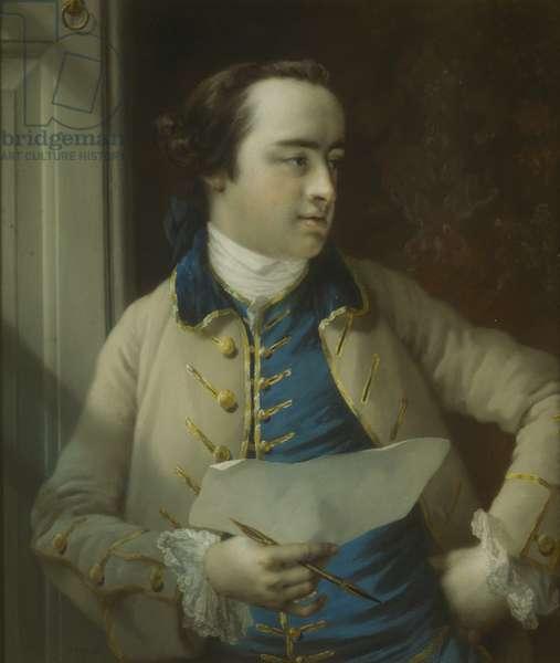 Sir Richard Hoare, 1757 (oil on canvas)