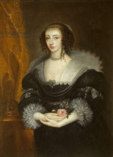 Queen Henrietta Maria (1609 - 1699)