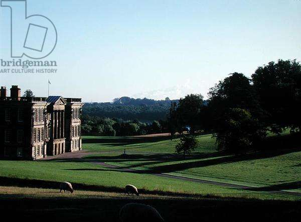 The south front of Calke Abbey, Derbyshire built 1701-03 (photo)