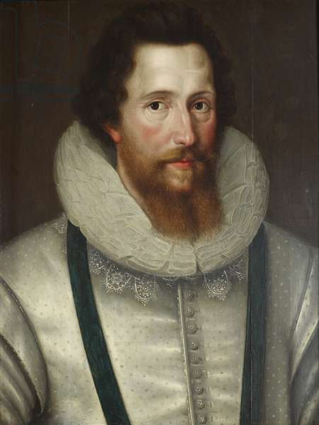 Robert Devereux, 2nd Earl of Essex, 1599 (oil on canvas)