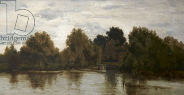 A Grey Day, Highgate Pond, London