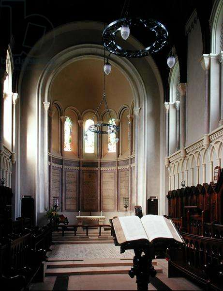 View of the Chapel, built by Sir Thomas Acland, 1841 (photo)