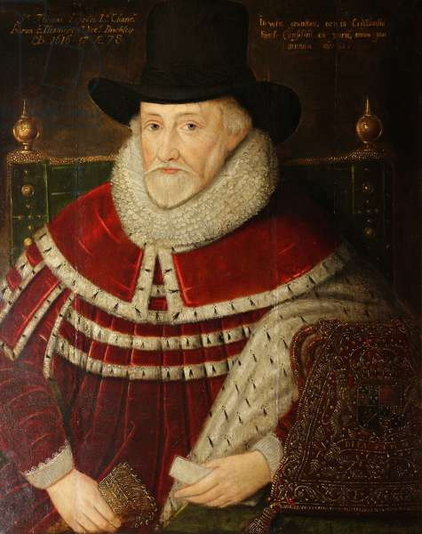 Sir Thomas Egerton, 1st Viscount Brackley (1540-1617), as Lord Chancellor