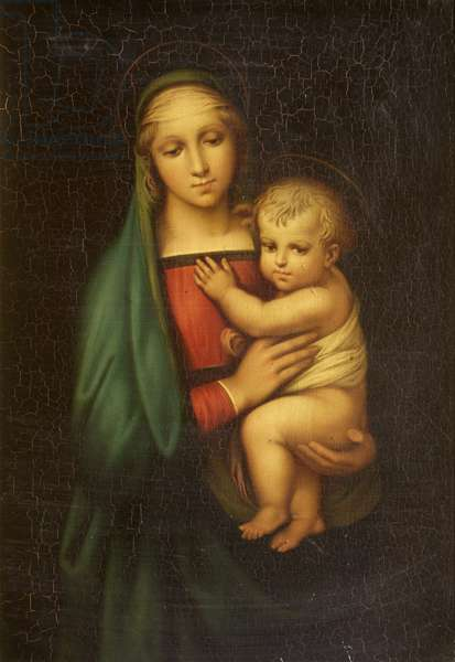 The Madonna and Child (of the Grand Duke) (Madonna del Granduca) (after Raphael)